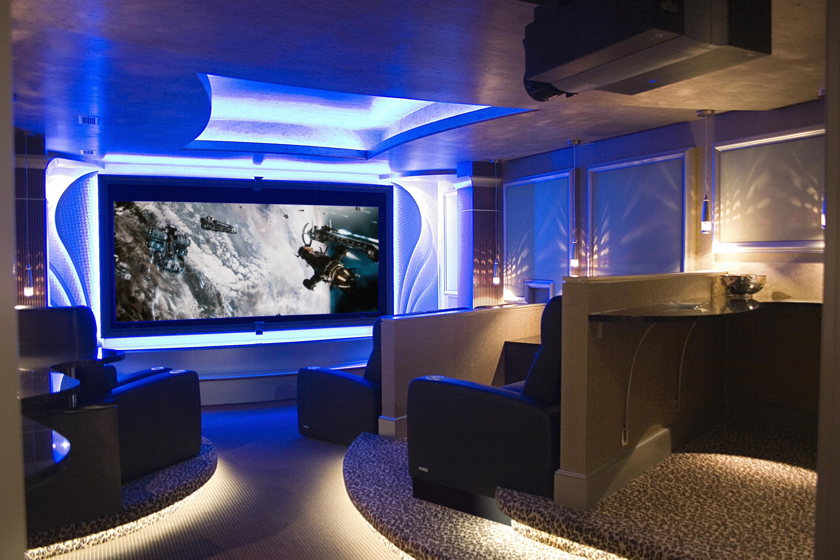 Advancements in home theater audio birmingham whole for Bar dans une maison